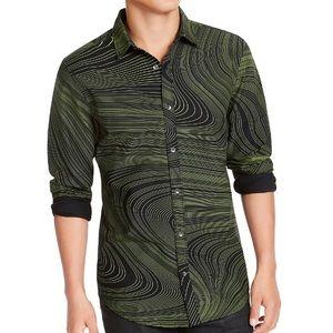 INC Men's Swirl Print Shirt